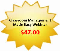 Classroom Management Made Easy Webinar